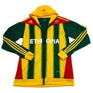 Adidas Ethiopia Climacool Zip Up Track Shirt